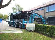 Grondzuigwagen Iveco/Rsp zuiginstalatie , dubbele turbine en krachtarm