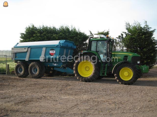 Tractor + kipper john deere 6920 & Beco 200 incl Miliekleppen