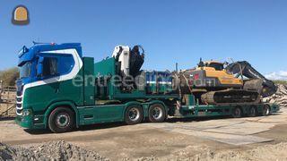 Scania R500 + semidieplad... Omgeving Kamerik