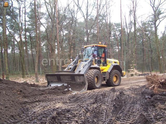 Wiellader / shovel JCB 426HT met weeg systeem