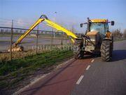 Tractor + armklepelmaaier Mx 135 + herder MBK135