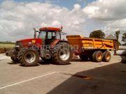 Tractor + kipper Veenhuis JVZK 18 ton