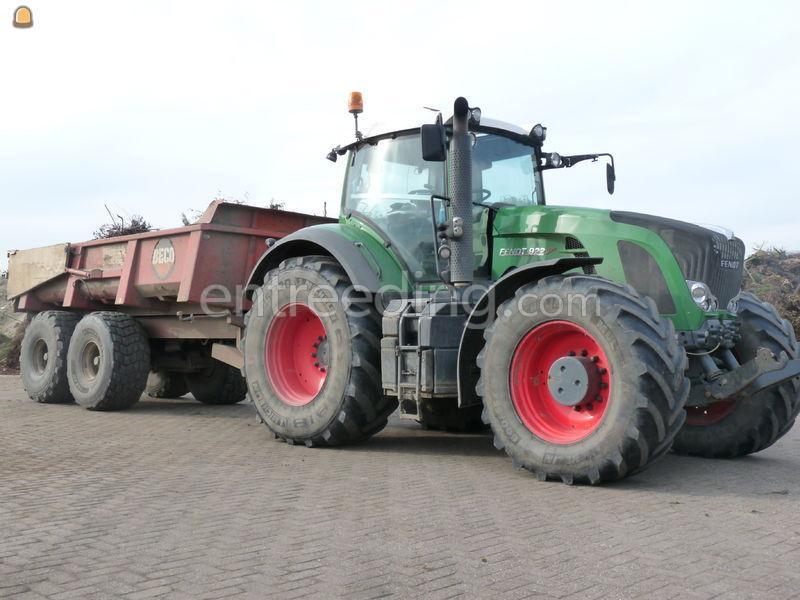 Fendt 922 + Beco 180  Tractor + kipper