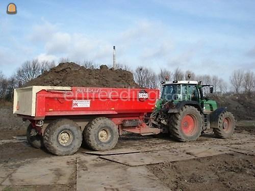 Tractor + kipper Fendt 920 + Beco 240