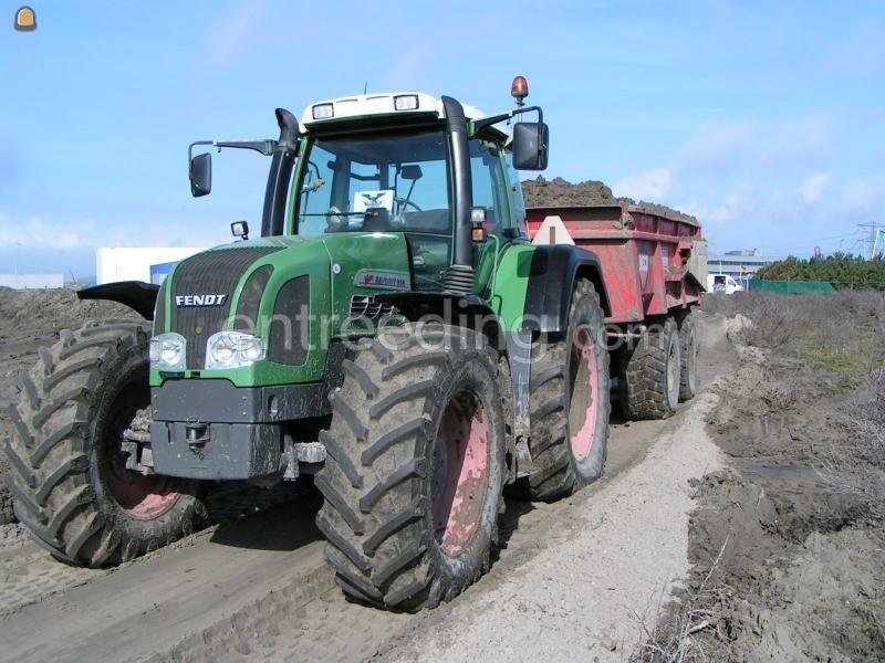 Tractor + kipper Fendt 916 + Beco 180