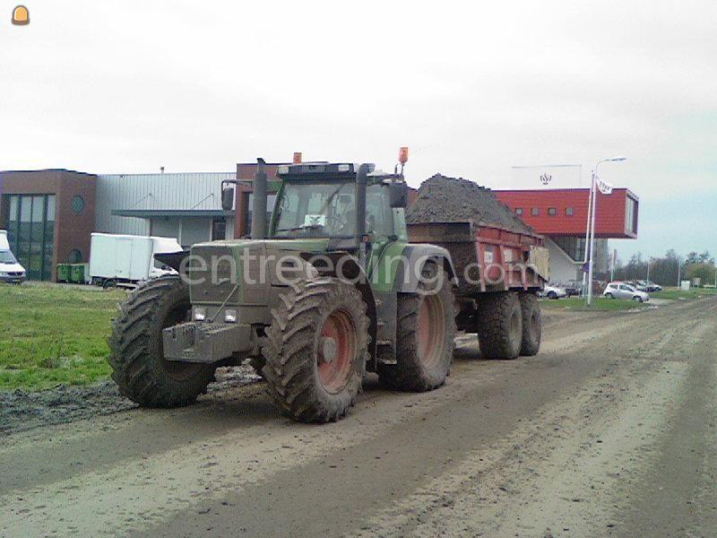 Tractor + kipper Fendt 916 Vario+Beco 180