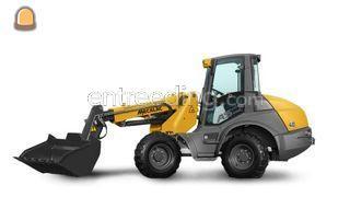 Giant mini shovel 5 ton Omgeving Goes
