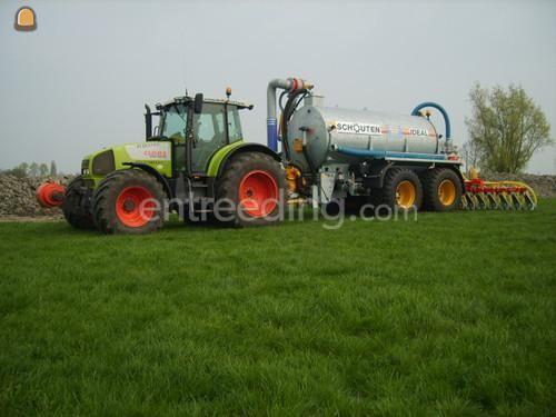 Tractor + bemester schouten