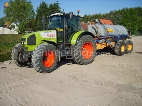 Tractor + waterwagen