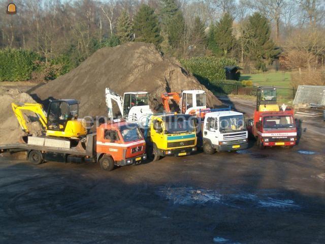 Minigraver, midigraver, micrograver, maxigraver, minikraan, minigraafmachine New Holland 3 ton