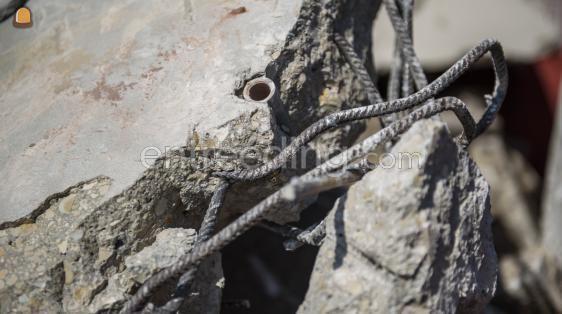 beton ongebroken gewapend