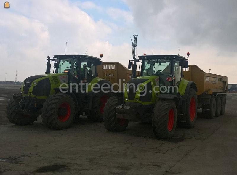 tractor met kipper