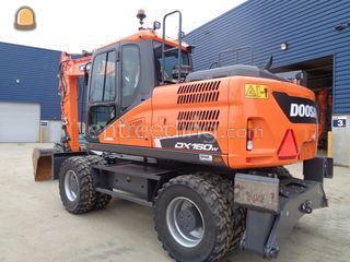 Doosan DX160W-5 Omgeving Veghel