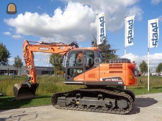 Doosan DX160LC-5 HT Omgeving Veghel