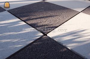 Betonstraatstenen / betonklinkers / bkk's Artstone waterdoorlatende sierklinker