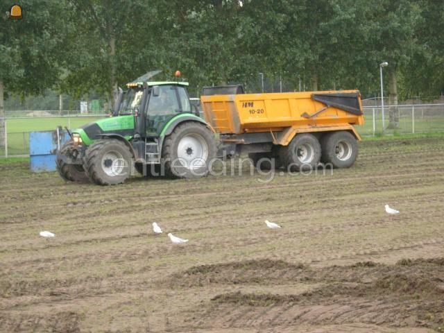 Tractor + kipper trekker+kieper