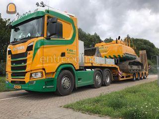 Scania S500 + Semi Diepla... Omgeving Alphen a/d Rijn