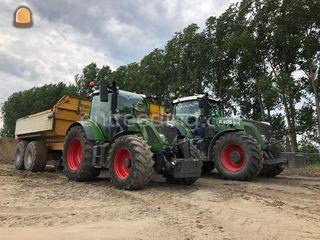 Fendt 516 + Beco 140 Omgeving Alphen a/d Rijn