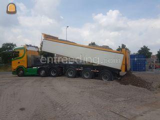 Scania S500 + Kipper Omgeving Alphen a/d Rijn