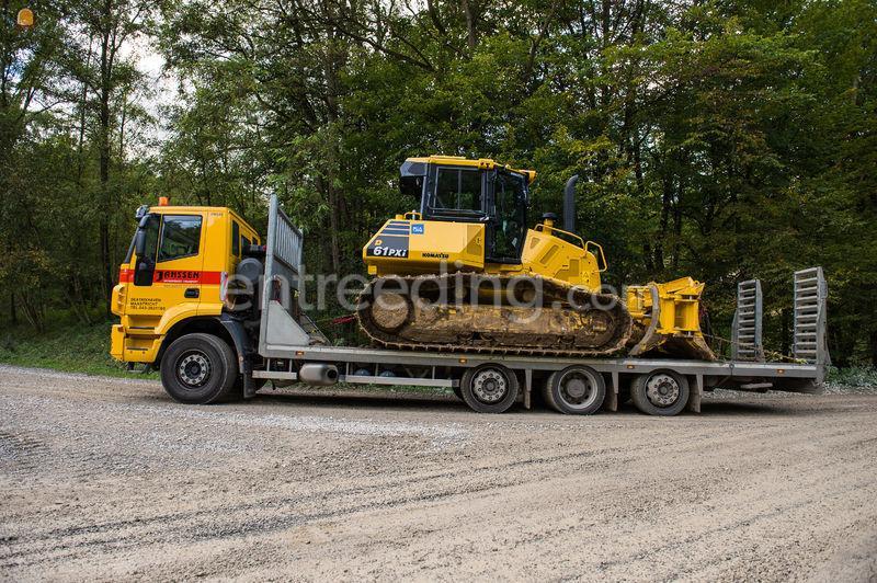 Iveco 8x2 oprijwagen 22 ton