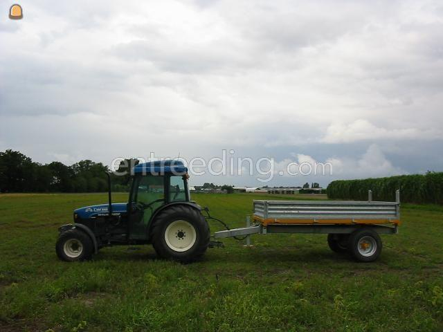 Tractor + kipper New Holland TN 65 F