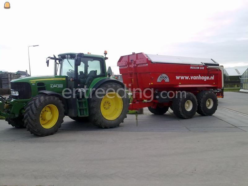 Tractor + kipper John Deere 6930 + Beco 240