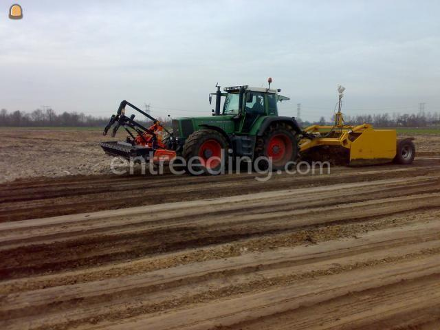 Tractor + kilver fendt 926 + kilverbak