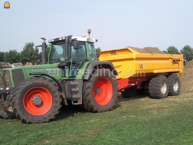 Tractor + kipper Fendt + vgm