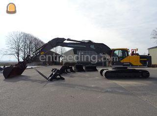 Volvo EC220EL 12m + GPS Omgeving Alphen a/d Rijn