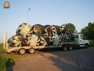 Balentransport Omgeving Alphen a/d Rijn