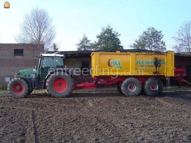 Tractor + kipper Fendt + VGM baggerkipper 19m3