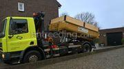 Daf 4x2 kraan container