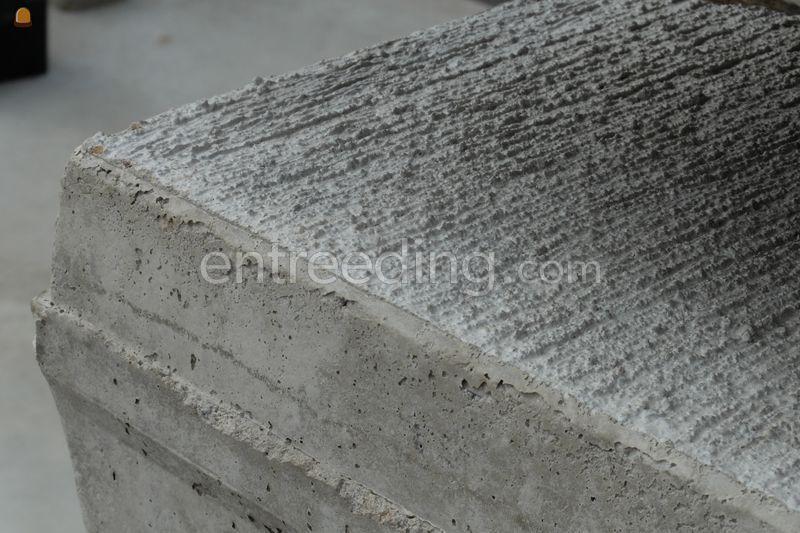detail afwerking grove deklaag