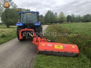 Tractor + klepelmaaier Omgeving Epe
