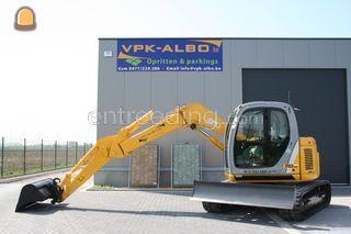New Holland Kobelco E70 S... Omgeving Gent