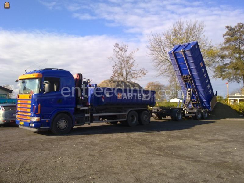 Kippervrachtauto Scania 164 480 6x2-4