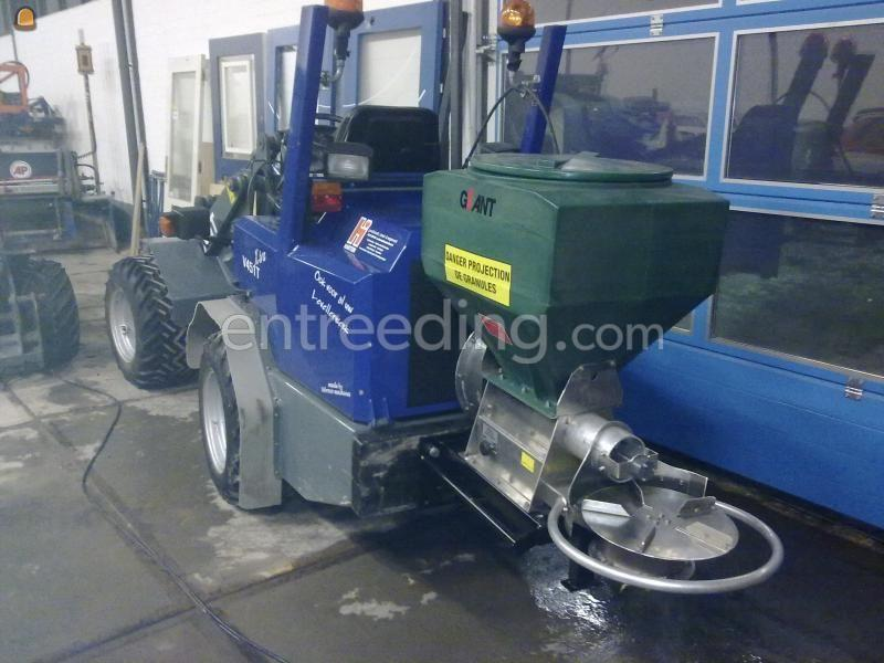Sneeuwschuiver / Zoutstrooiers Giant V451T X-tra