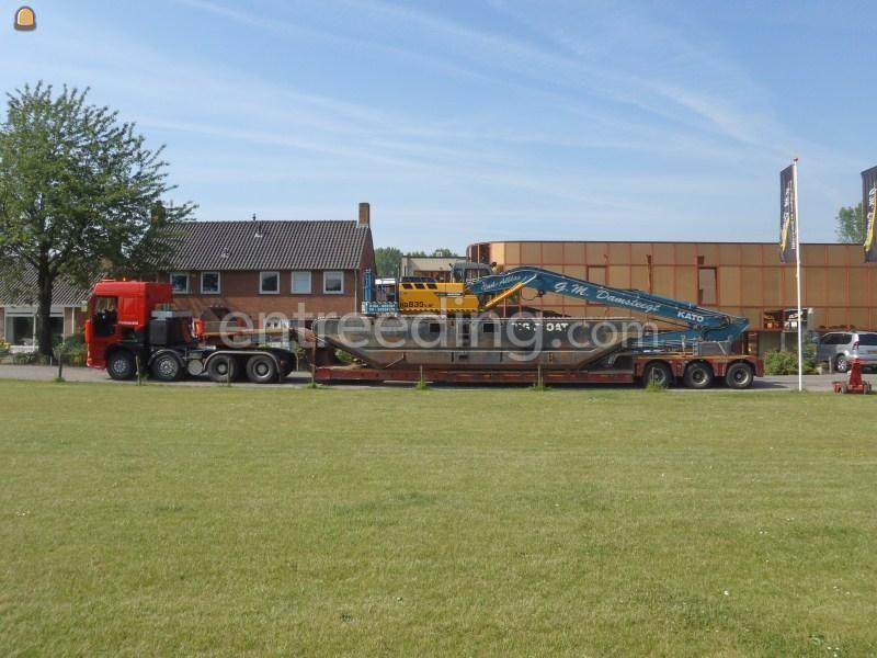 Projecten / werken Transport van Big Float van fa. Damsteegt.