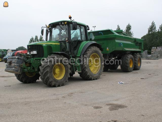 Tractor + kipper John Deere 6420 S