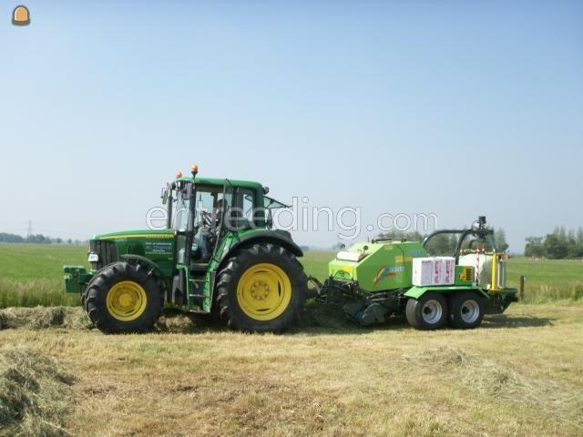 Tractor + oprolpers Midi balenpers