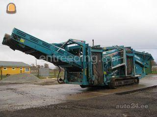 Zeefmachines Powerscreen warrior 1400