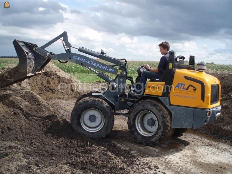 Wiellader / shovel  Giant 6004t