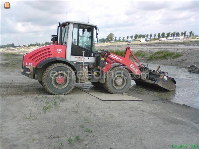 Wiellader / shovel O&K L15.5