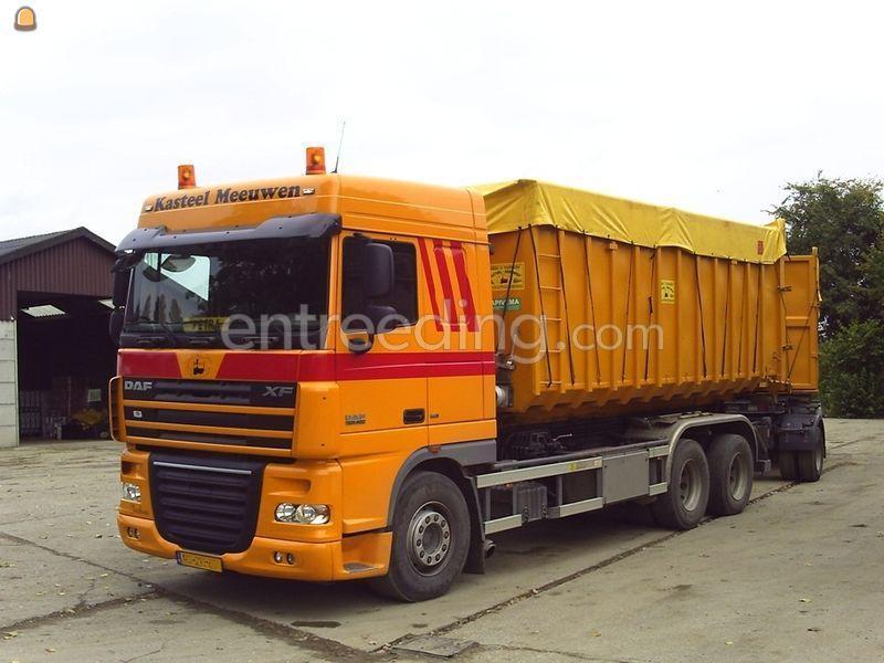 Kippervrachtauto DAF 105XF Containerwagen 6x2