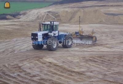 Tractor + kilver FORD + kilver