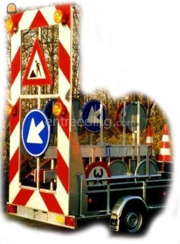 Aktiewagens Actiewagen met halve rijbaanafzetting