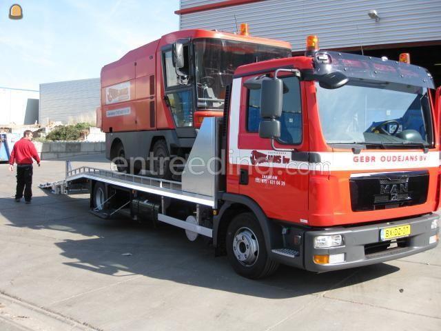 Dieplader / oprijwagen MAN 12-180