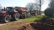 Tractor Case cvx 150 + Kieper