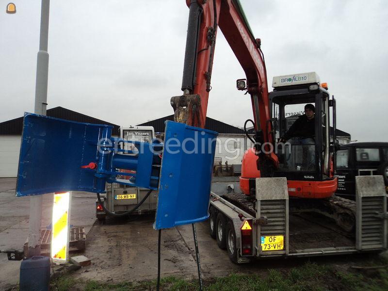 Sloop- en sorteergrijpers sorteergrijper mini 5 tons
