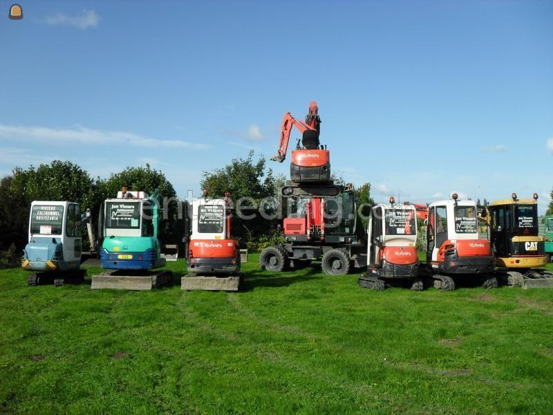 Minigraver, midigraver, micrograver, maxigraver, minikraan, minigraafmachine mini 800 kg tm 6 tons en 14t